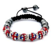 UK flag Shamballa Balls!